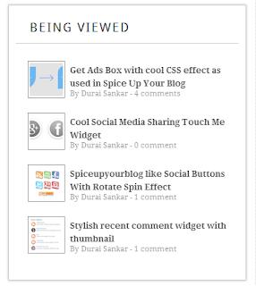 Gadget pour afficher les articles en cours de lecture
