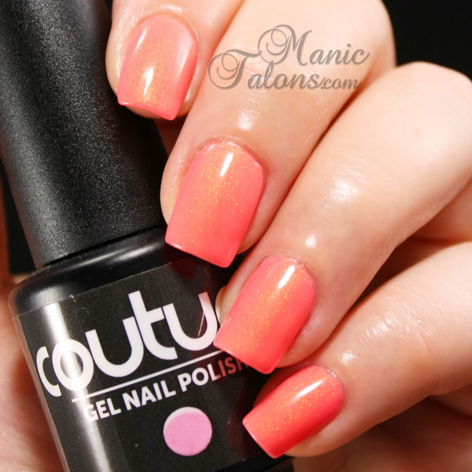 Couture Gel Polish Sheer Beauty Swatch
