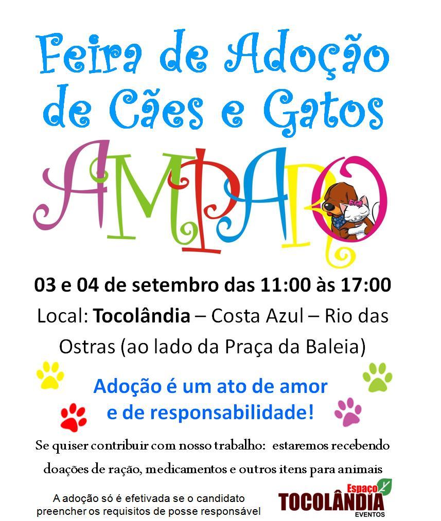 Armario A Medida Barato ~ Protetores dos Animais de Macaé PAM Eliana Petrelli Participem da 6 u00aa Feira de Adoç u00e3o de C u00e3es