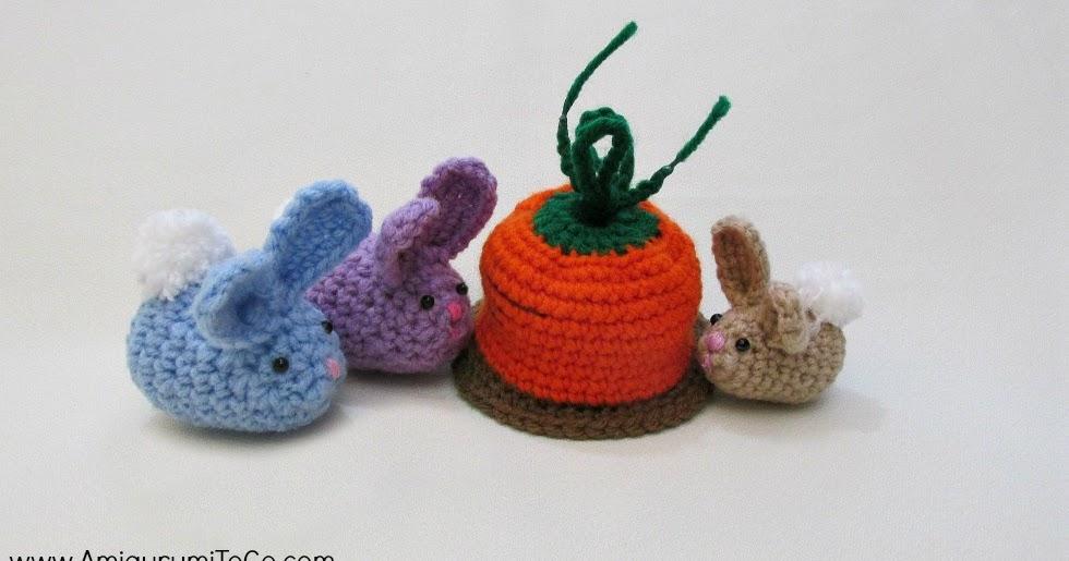 Bunny Amigurumi To Go : Easter Bunny Finds Carrot ~ Amigurumi To Go
