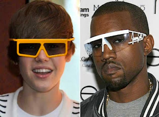 Justin Bieber and kanye west