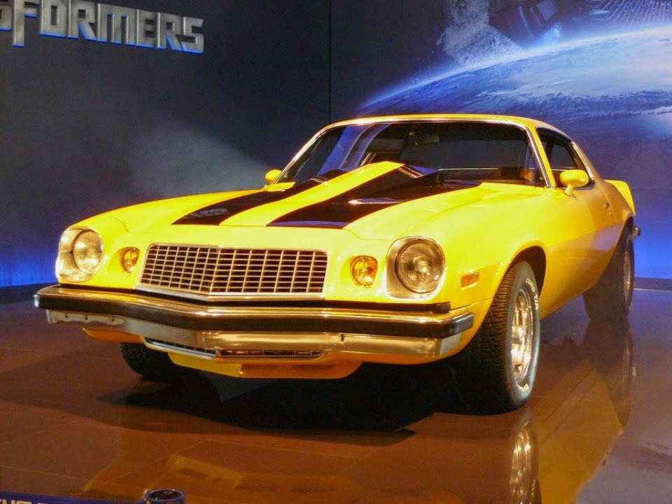 Camaro Bumblebee Transformers Car