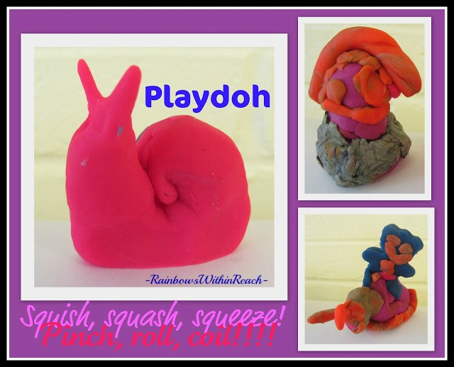 photo of: Playdoh Fun at RainbowsWithinReach