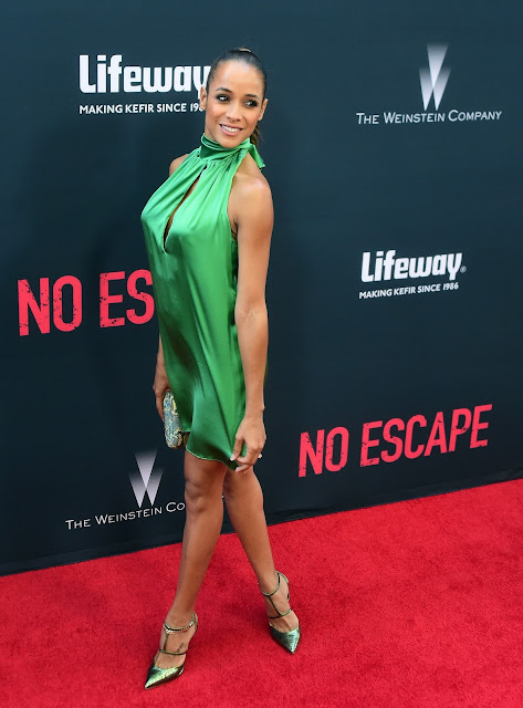 Actress @ Dania Ramirez - No Escape premiere in LA