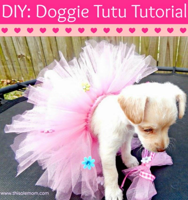 Pet Tutu, Dog Tutu, Cat Tutu, How to make a dog tutu, DIY Child's Tutu, How to make a Tutu