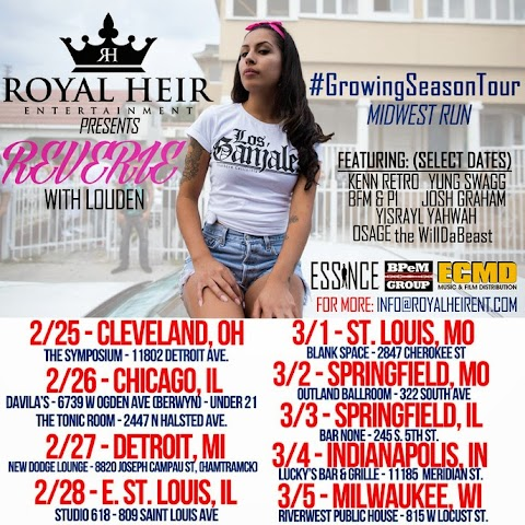 Growing Seasons Midwest Tour