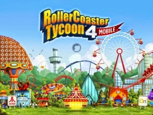 Game RollerCoaster Tycoon 4 mobile MOD APK