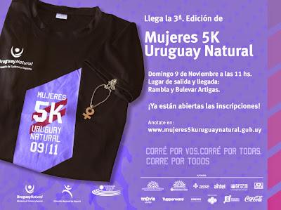 5k Mujeres Uruguay Natural (Montevideo, 09/nov/2014)
