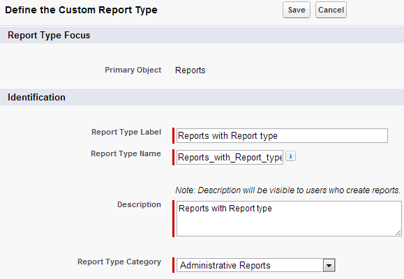 simplysfdc   salesforce how to find custom report type