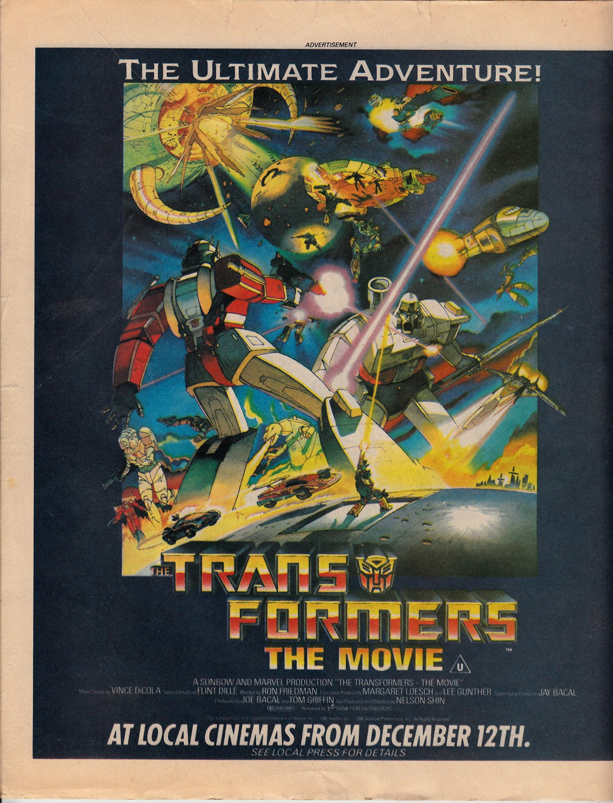 starlogged geek media again 1986 the transformers the