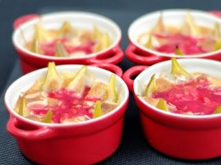 Cassolette de figues aux amandes