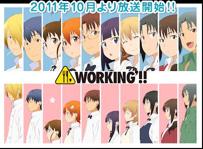Working anime 2011 second season