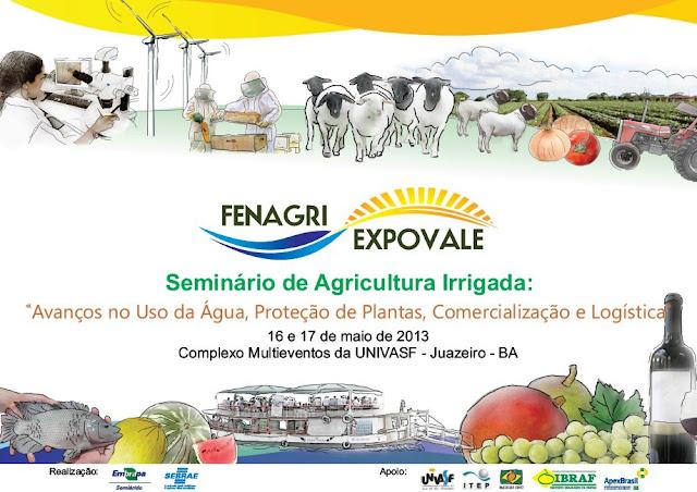Seminário de Agricultura Irrigada