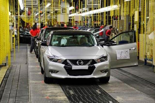 Nissan Mulai Melakukan Produksi Nissan Maxima 2016