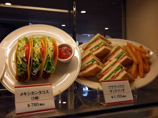 Fake Plastic Food In Japan