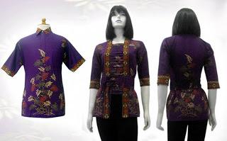 Model - Model Baju Batik Modern Terbaru 2013