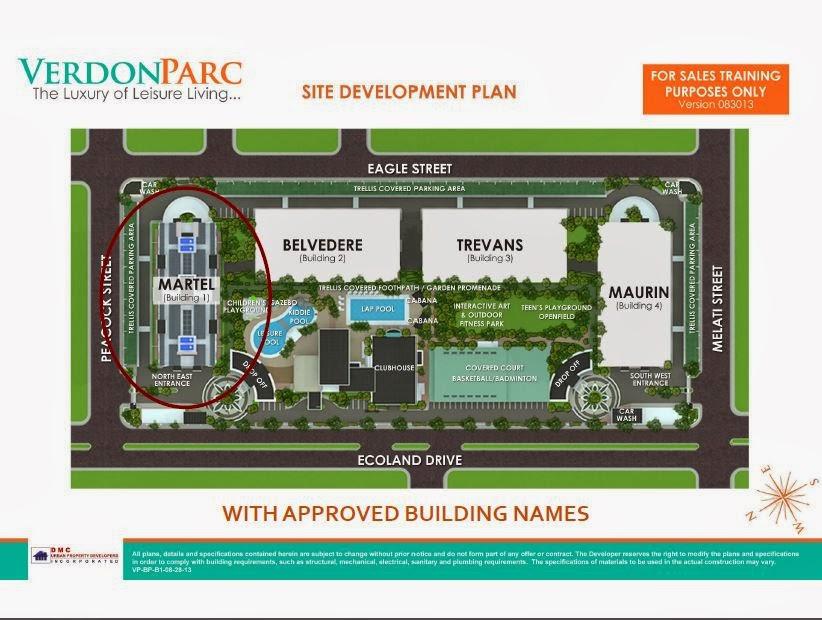 Verdon Parc Davao - Site Devt Plan