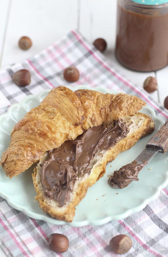 Como hacer crema de chocolate tipo Nutella o Nocilla