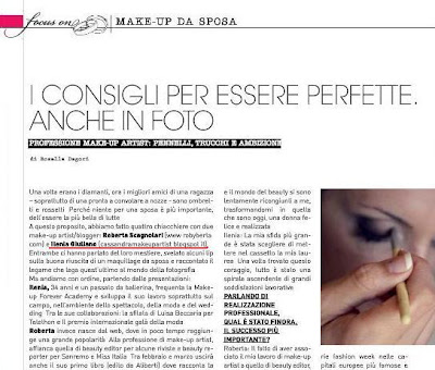foto notiziario trucco sposa - intervista cassandra make up artist