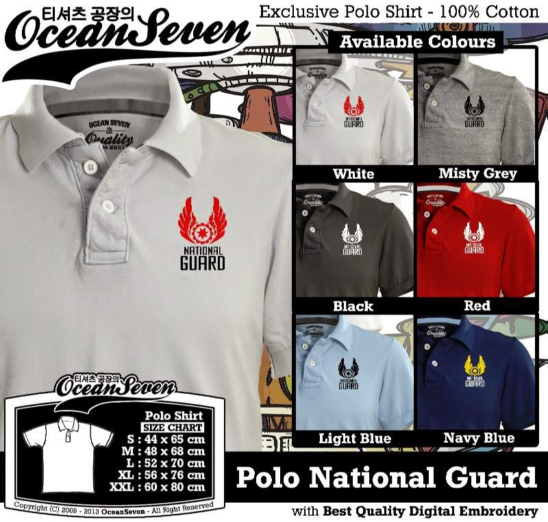 Kaos Polo National Guard