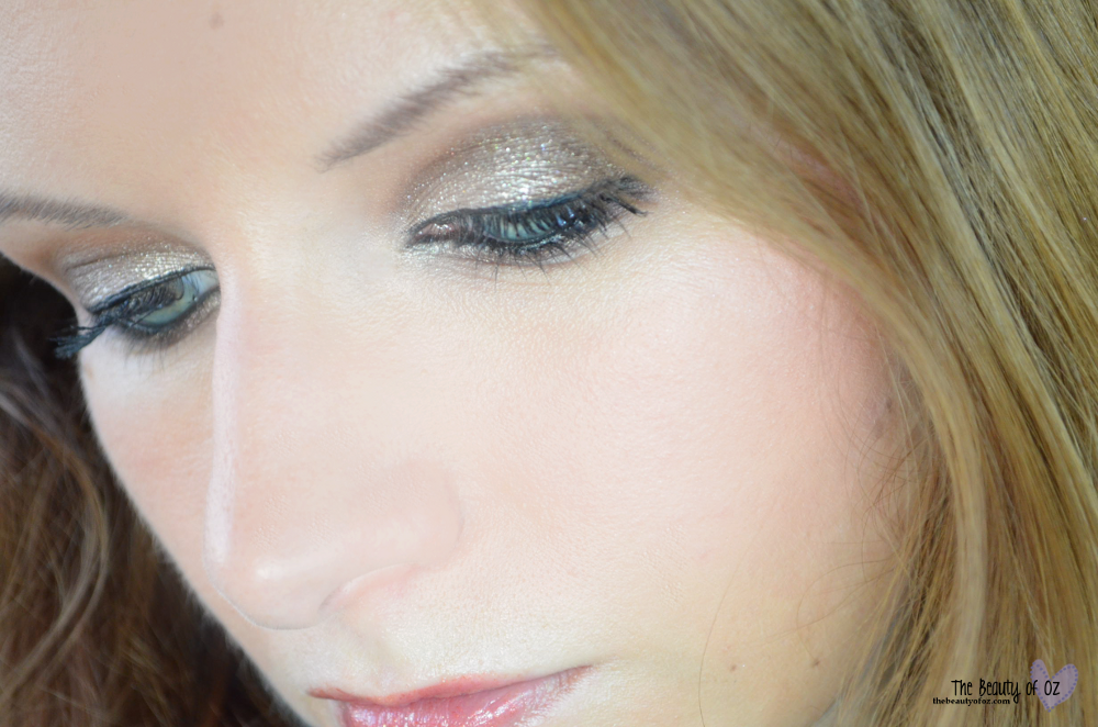 X-Mas Make-up Look Golden Winter