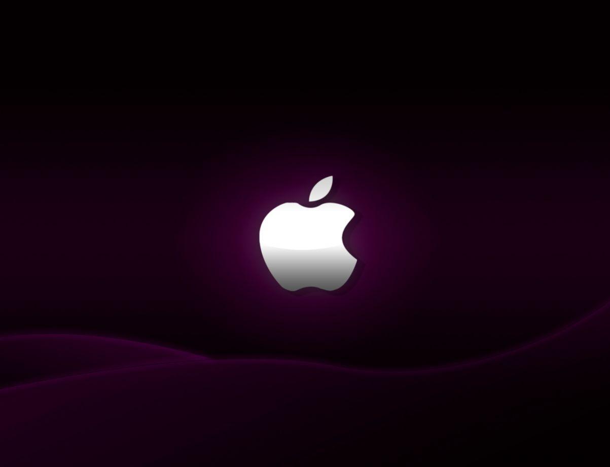 Purple Apple Hd Wallpapers