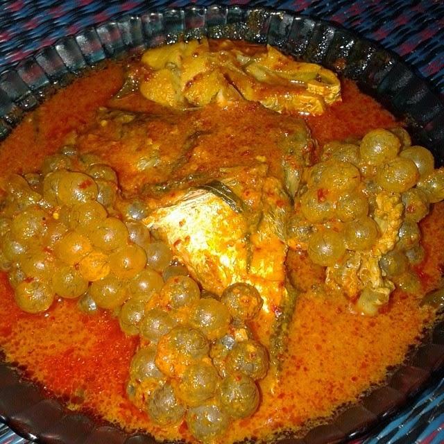 telur ikan, telur ikan sembilang, telur ikan duri, asam pedas telur ikan, tip memasak telur ikan, cara memasak telur ikan yang betul