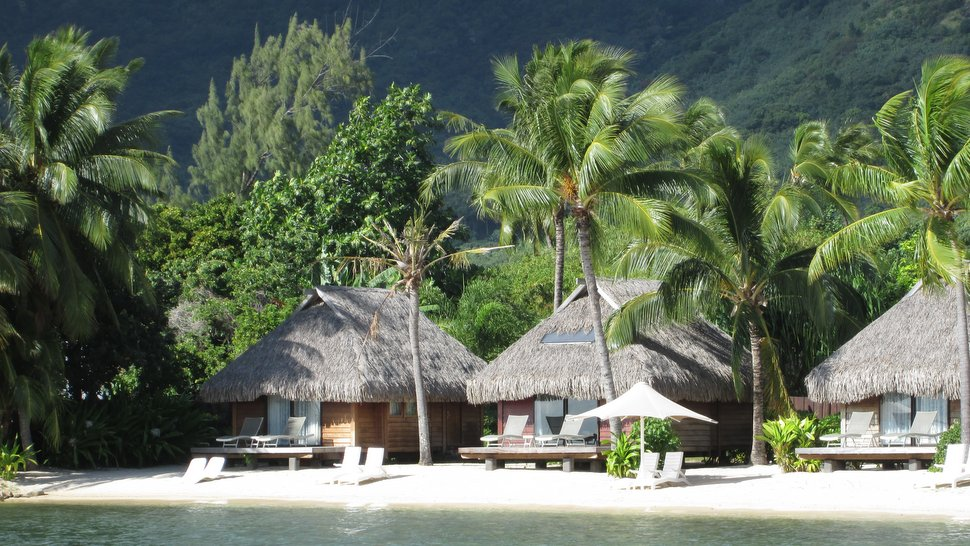 Bungalows jardin au Moorea Pearl Resort & Spa