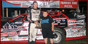 Bobby gets Win #15 at Fairbury Speedway 8-16-2014