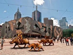 Rhinos Are Roaming Fed Square
