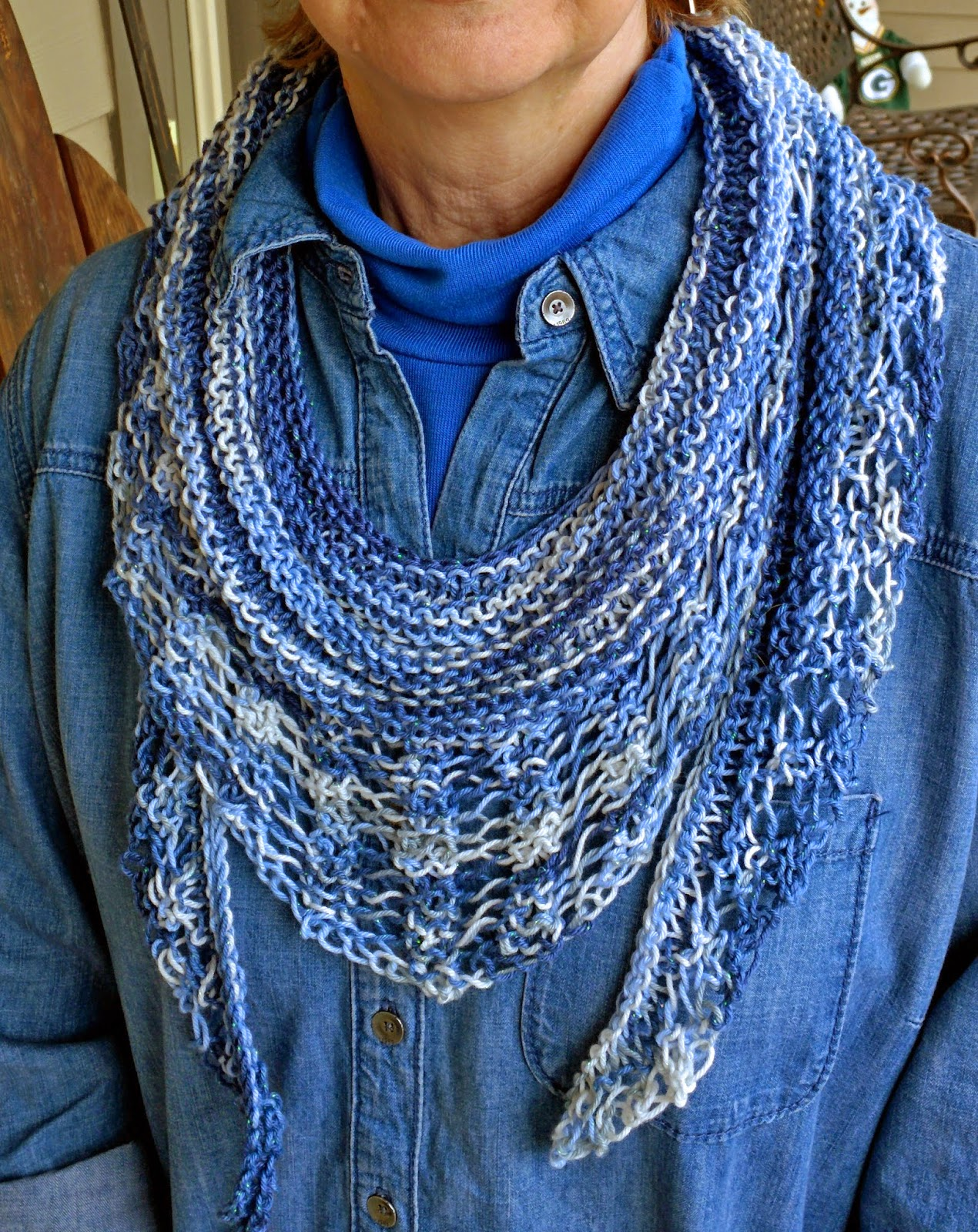 Knitting Pattern For Gallatin Scarf : Spinning Memories - Knitting Love: Light & Airy - The ...