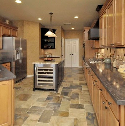Dise os y tipos de pisos para cocina para que elijas el for Decoracion de pisos interiores