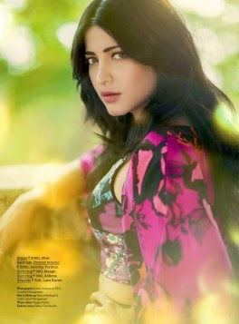 Pretty Shruti Haasan Adore The Cover Of Juice Magazine March 2015
