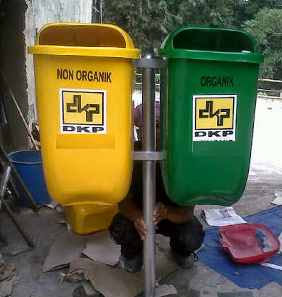 Tong Sampah Pilah 2 Oval 50 liter