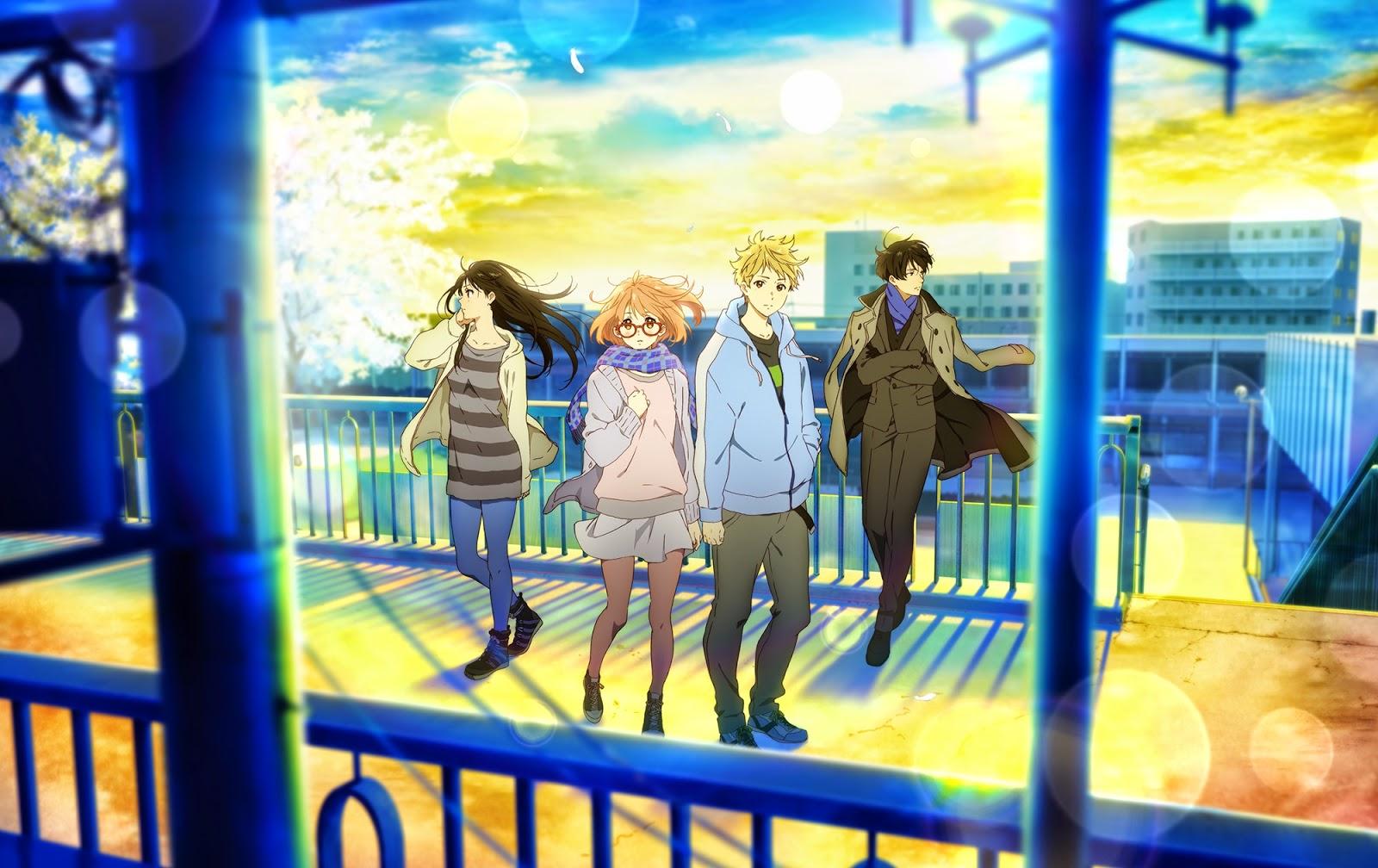 Gekijou-ban Kyoukai no Kanata: I'll Be Here - Mirai-hen imagen promocional