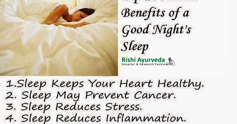 benefits of good sleep Good sleep improves your immune system another health benefit of sleep is helping you fight off being sick in a recent study, they found that people who sleep less than 7 hours a night are 3x more likely to develop a cold than those sleeping 8 hours or more this topic is also covered on our youtube channel, the health.