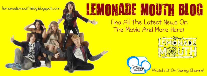 Lemonade Mouth Blog // The First Lemonade Mouth Fansite With All The Latest News On Lemonade Mouth!