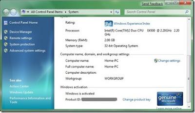 windows 7, guia depois da instalação