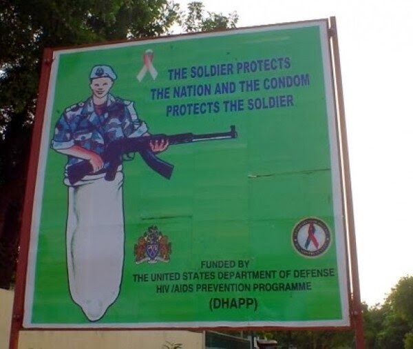 psa condom for soldier
