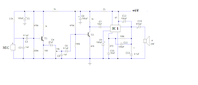 audio pre amplifier circuit