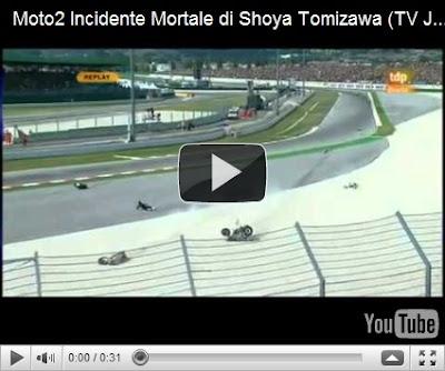 Kecelakaan MotoGP di Youtube