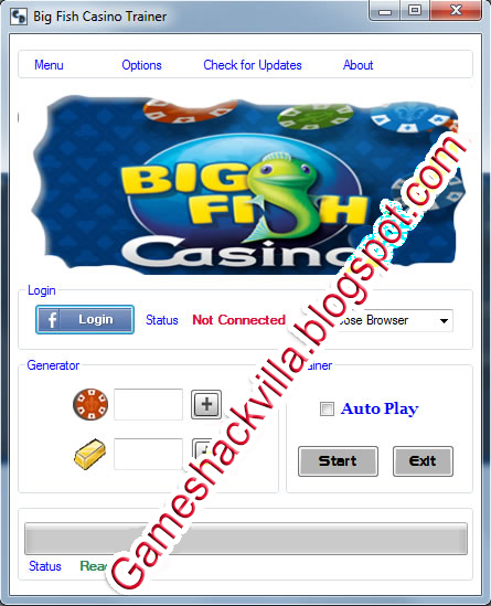 Big Fish Casino Hack/Cheats [Unlimited Chips+Casino Gold]