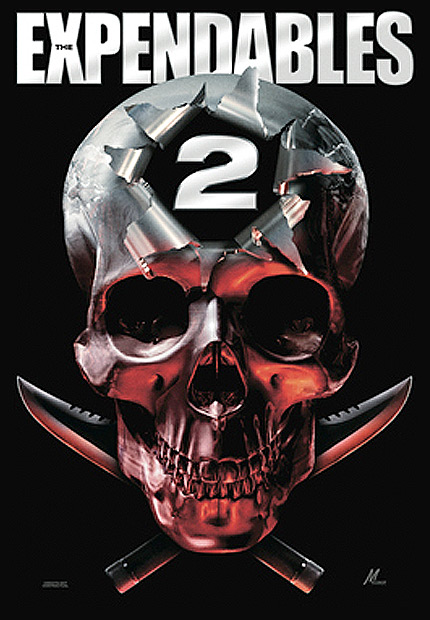 dimensi243n anime the expendables 2 teaser poster