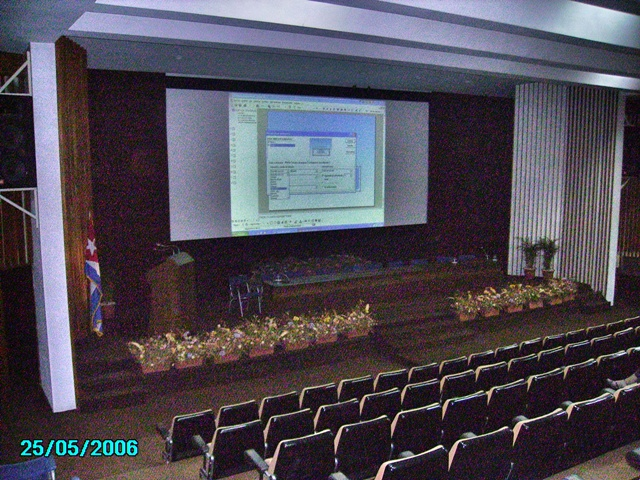 Salón de congreso Nefrocimeq