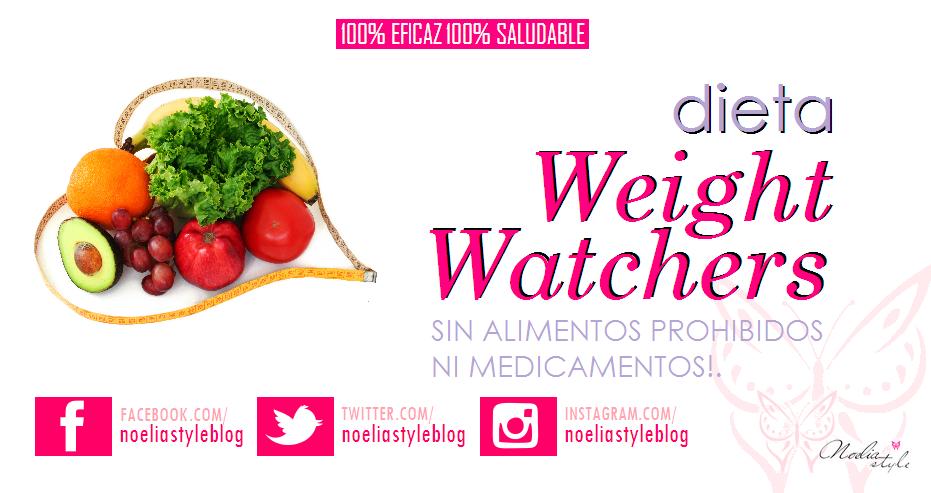 Dieta Weight Watchers Vigilantes Del Peso Adelgaza Sin