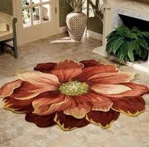 A Big Flower Rug