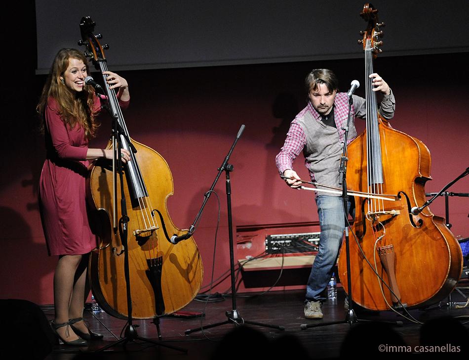 Gemma Abrié i Miquel Àngel Cordero, Auditori de Vinseum, Vilafranca 28-2-2015