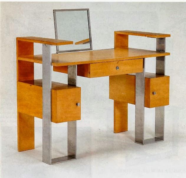 Le blog des amis de la villa cavrois mobilier for Meuble 70x30