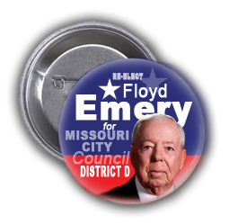 COUNCILMAN EMERY IS RUNNING FOR RE-ELECTION IN MISSOURI CITY ON SATURDAY, MAY 9, 2015