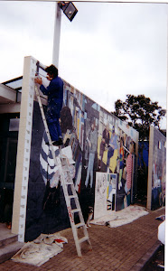 Library Mural Painting